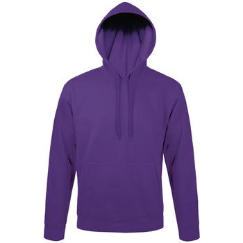 textil sudaderas Sols SNAKE UNISEX SPORT Violeta