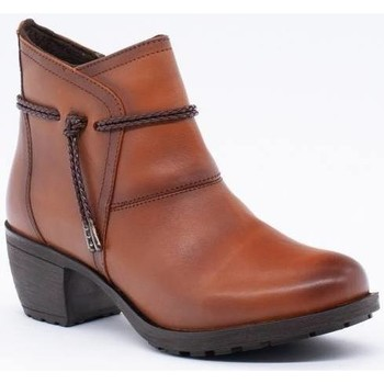 Zapatos Mujer Low boots Wikers 56883 Marrón