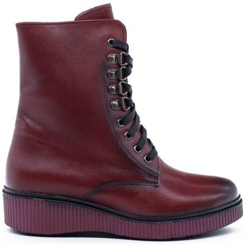 Zapatos Mujer Botines Wikers A-57264 Rojo