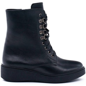 Zapatos Mujer Botines Wikers A-57264 Negro