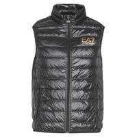 textil Hombre plumas Emporio Armani EA7 CORE ID 8NPQ02 Negro / Oro