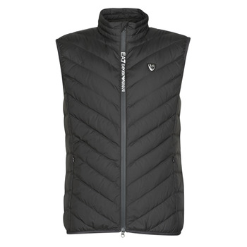 textil Hombre Plumas Emporio Armani EA7 TRAIN CORE SHIELD M DOWN LIGHT VEST Negro