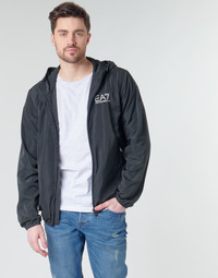 textil Hombre Cortaviento Emporio Armani EA7 TRAIN CORE ID M JACKET Negro