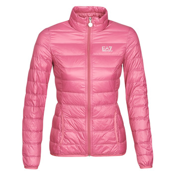 textil Mujer Plumas Emporio Armani EA7 TRAIN CORE LADY W LT DOWN JACKET Rosa