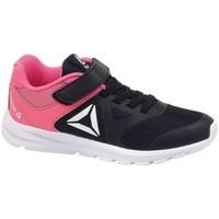 Zapatos Niños Zapatillas bajas Reebok Sport Rush Runner Negros, Rosa