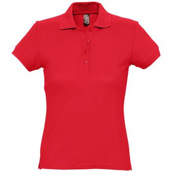 textil Mujer Polos manga corta Sols PASSION WOMEN COLORS Rojo