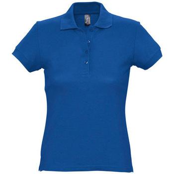 textil Mujer Polos manga corta Sols PASSION WOMEN COLORS Azul