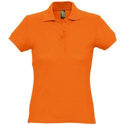 textil Mujer polos manga corta Sols PASSION WOMEN COLORS Naranja