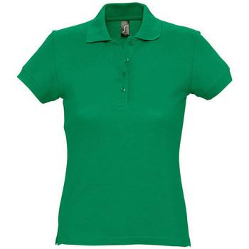textil Mujer Polos manga corta Sols PASSION WOMEN COLORS Verde