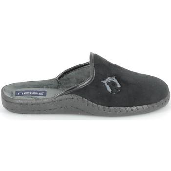 Zapatos Pantuflas Boissy NELES Mule Noir Negro