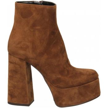 Zapatos Mujer Zapatos de tacón Mivida CAMOSCIO sigaro