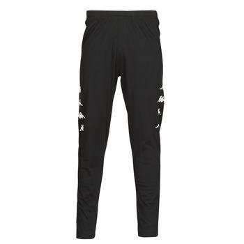 textil Hombre Pantalones de chándal Kappa KOLRIK Negro / Blanco