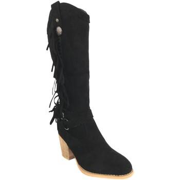 Zapatos Mujer Botas urbanas Silvian Heach B-28 Negro