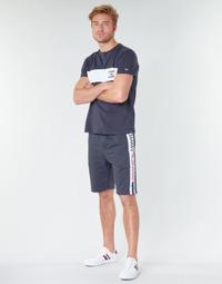 textil Hombre Shorts / Bermudas Tommy Jeans TJM BRANDED TAPE SHORT Marino