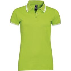 textil Mujer polos manga corta Sols PASADENA MODERN WOMEN Verde