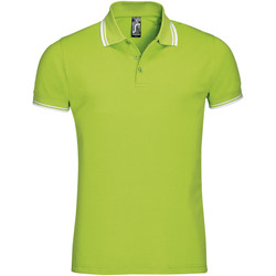 textil Hombre polos manga corta Sols PASADENA MODERN MEN Verde