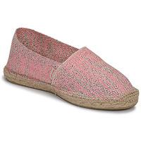 Zapatos Mujer Alpargatas Pare Gabia VP FLUO Rosa / Blanco