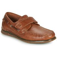 Zapatos Hombre Zapatos náuticos Fluchos POSEIDON Marrón