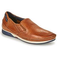 Zapatos Hombre Slip on Fluchos JAMES Marrón / Marino