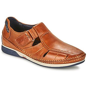 Zapatos Hombre Sandalias Fluchos JAMES Marrón / Marino / Rojo