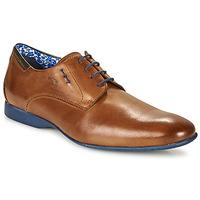Zapatos Hombre Derbie Fluchos VESUBIO Marrón / Azul
