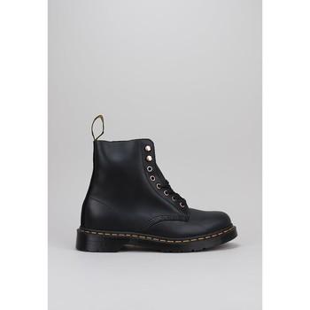 Zapatos Hombre Botas de caña baja Dr Martens 1460 PASCAL SOAP STONE Negro