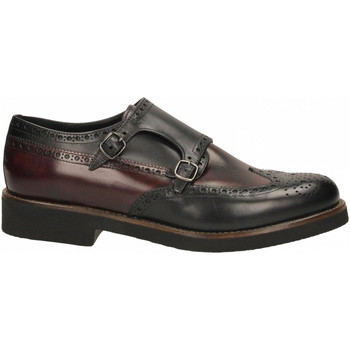 Zapatos Hombre Derbie Edward's ERODE nero-bordeaux