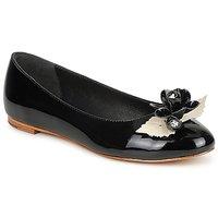 Zapatos Mujer Bailarinas-manoletinas C.Petula MUCHACHA Negro