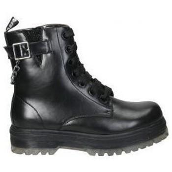 Zapatos Niño Botas de caña baja Asso Botines  ag3801 niña negro Noir