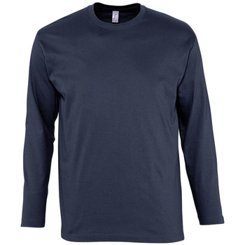 textil Hombre Camisetas manga larga Sols MONARCH COLORS MEN Azul
