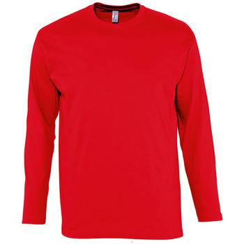 textil Hombre Camisetas manga larga Sols MONARCH COLORS MEN Rojo