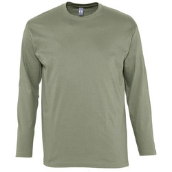 textil Hombre Camisetas manga larga Sols MONARCH COLORS MEN Beige