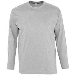 textil Hombre Camisetas manga larga Sols MONARCH COLORS MEN Gris
