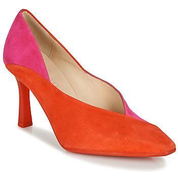 Zapatos Mujer Zapatos de tacón Hispanitas PARIS-8 Rojo / Rosa