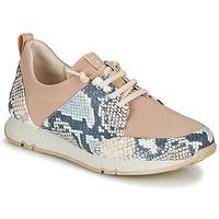 Zapatos Mujer Zapatillas bajas Hispanitas KIOTO Beige / Azul