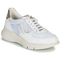 Zapatos Mujer Zapatillas bajas Hispanitas CUZCO Blanco / Oro / Rosa