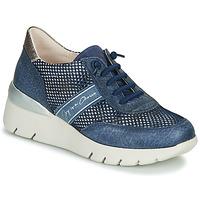 Zapatos Mujer Zapatillas bajas Hispanitas RUTH Azul / Oro / Plata