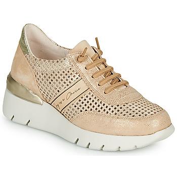 Zapatos Mujer Zapatillas bajas Hispanitas RUTH Rosa / Oro / Blanco