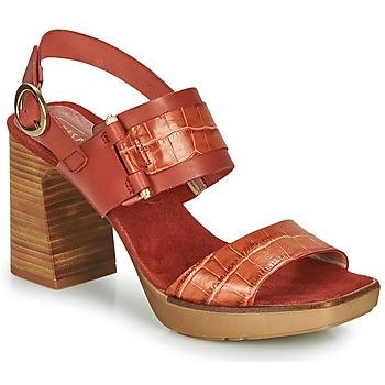 Zapatos Mujer Sandalias Hispanitas PETRA Marrón