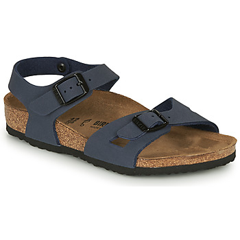 Zapatos Niños Sandalias Birkenstock RIO Navy