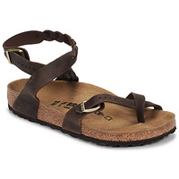 Zapatos Mujer Sandalias Birkenstock YARA LEATHER Marrón