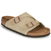 Zapatos Hombre Zuecos (Mules) Birkenstock ZURICH SFB LEATHER Gris