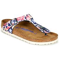 Zapatos Mujer Chanclas Birkenstock GIZEH SFB Multicolor