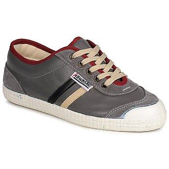 Zapatos Zapatillas bajas Kawasaki PLAYERS RETRO Gris / Beige / Negro