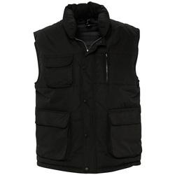 textil Chaquetas de punto Sols VIPER QUALITY WORK Negro