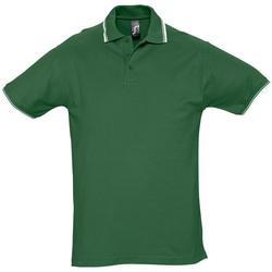 textil Hombre Polos manga corta Sols PRACTICE GOLF SPORT Verde
