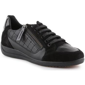 Zapatos Mujer Zapatillas bajas Geox D Myria A Negros