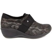 Zapatos Mujer Mocasín Arcopedico RUBI PIEL NEGRA NEGRO