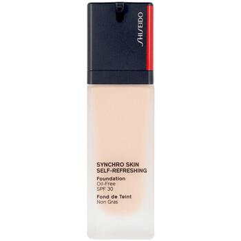 Belleza Mujer Base de maquillaje Shiseido Synchro Skin Self Refreshing Foundation 220   30 ml