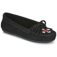 Zapatos Mujer Mocasín Minnetonka THUNDERBIRD II Negro